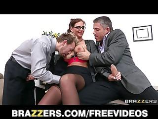 brazzers - breasty college dean phoenix marie