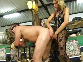 sheboy dominates lads booty