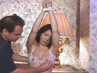 he is lightly spanks her a-hole