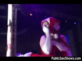 mrs santa claus stripper getting wicked