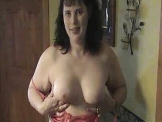 red brassiere on big beautiful woman