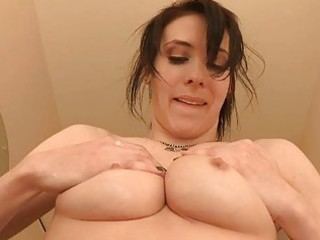 aiden excited beauty masturbating bawdy cleft