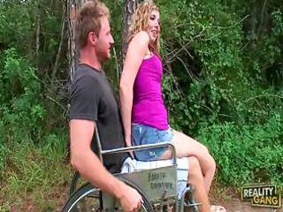 nichole taylor make disabled boy truly cheerful