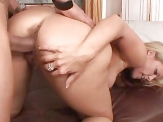 breasty golden-haired mother i acquires hard