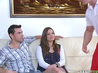 ilovely ashlyn leigh acquires her beefy fur pie
