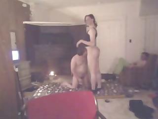 ladyman audrey smokin fetish sex with bf