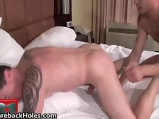 bizarre homosexual bareback fucking and ramrod