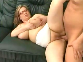 mature large charming woman with massive