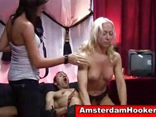 golden-haired hooker acquires drilled