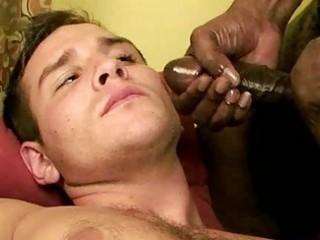 interracial homosexual wazoo likcing