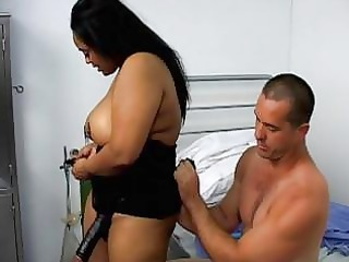 a fatty swarthy nurse do sex with her patient