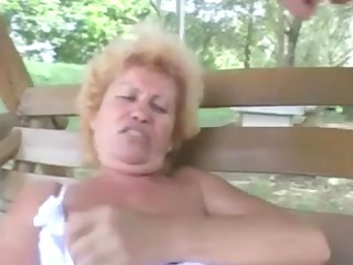 hirsute granny effie anal outdoor