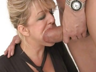 precious looking breasty wife got double drilled