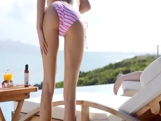 jaw-dropping arse and outdoor cunt rubbing