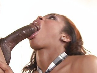 vanessa monet deepthroating giant dark penis