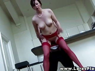 breasty euro playgirl engulfing and fucking and