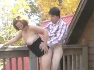 chunky redhead-mother id like to fuck outdoors