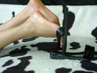 footjob shoejob compilation