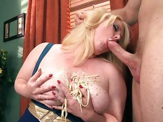 breasty blond big beautiful woman floozy gives