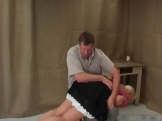 breasty slutty blond mother i receives her large