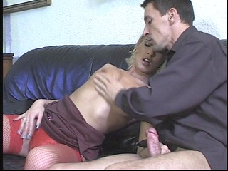 blond in red nylons - dbm movie