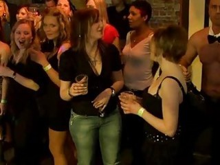very sexy group sex in club