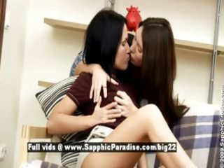 joana and marylon from sapphic erotica lesbian