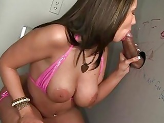 kelly divine sucks large weenie at gloryhole
