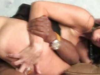 mommy stretched by dark