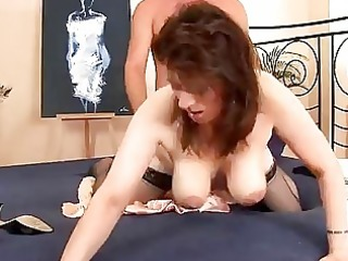 lascivious older honey in nylons drilled