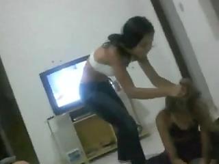 wrestling: 1 brazilian legal age teenager honeys