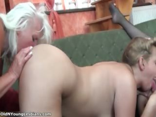 breasty and sexy lesbo hotty acquires her butt