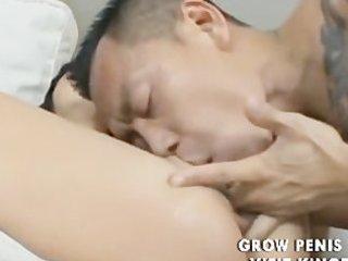 oriental lad fuck a american beauty