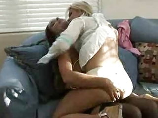 older woman seduces youthful girl...f35