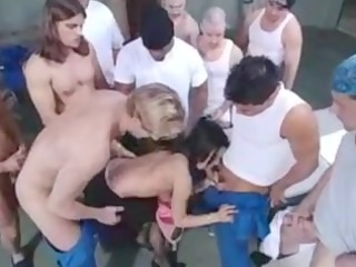 belladonna jail gangbang.flv