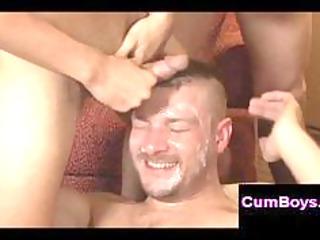 smutty homosexual bukkake fuckfest