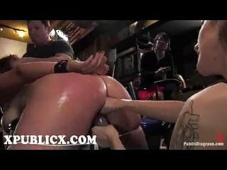 servitude hoe fisted and face hole drilled