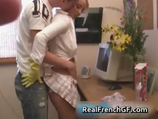 astounding legal age teenager housewife jerking
