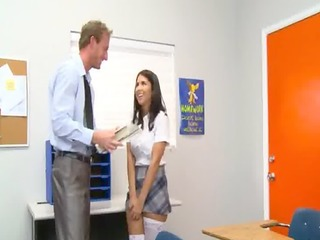 incredibly sexy student bonks with teacher
