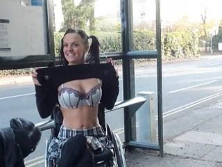 paraprincess public nudity of uk leah caprice