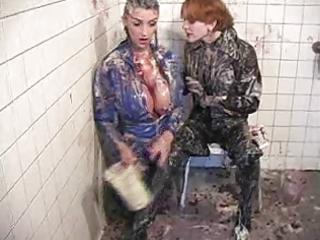 indecent rubber haunch boots!