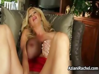 breasty blond d like to fuck receives lustful