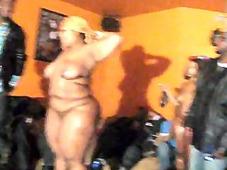 big beautiful woman oil wrestling
