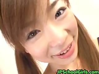 ami hinata enchanting japanese student