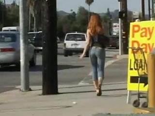 redhead trinity post nut all in her anal opening