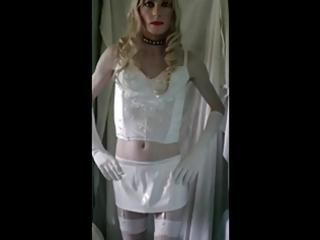 sandra virgin white he-he
