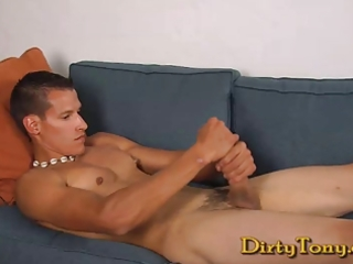 hung uncut latino jacks his tool