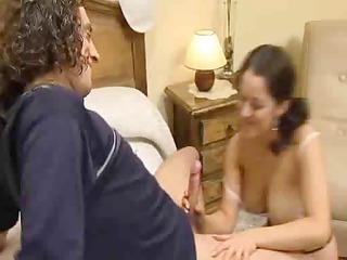 pair masturbate to big o