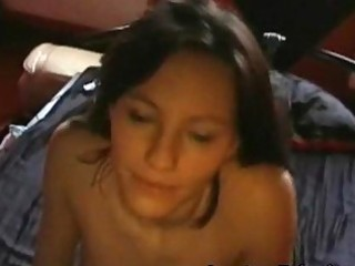 lovely non-professional anal creampie